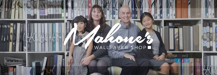 Mahones Wallpaper Shop. Your source for designer wallpaper and f