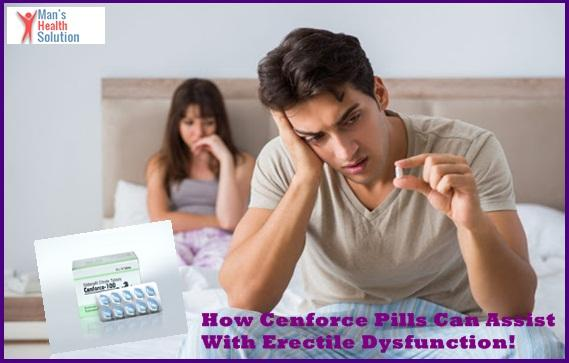 How Cenforce Pills Can Assist With Erectile Dysfunction! - laura