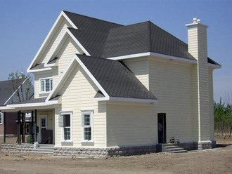Light steel houses have good ductility and toughness