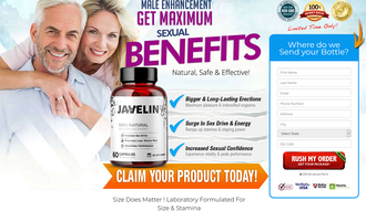 Javelin Male Enhancement\u00ae:Maximum Sexual Benefits