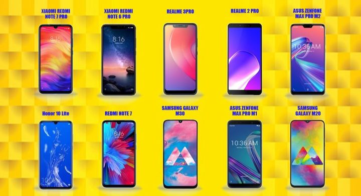 Best Smartphones under ₹15,000 | TechyMob