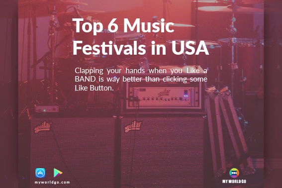 Top 6 Music Festivals in USA You Should Definitely Attend