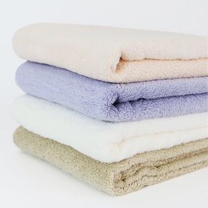 How are the bath towels you use being produced?
