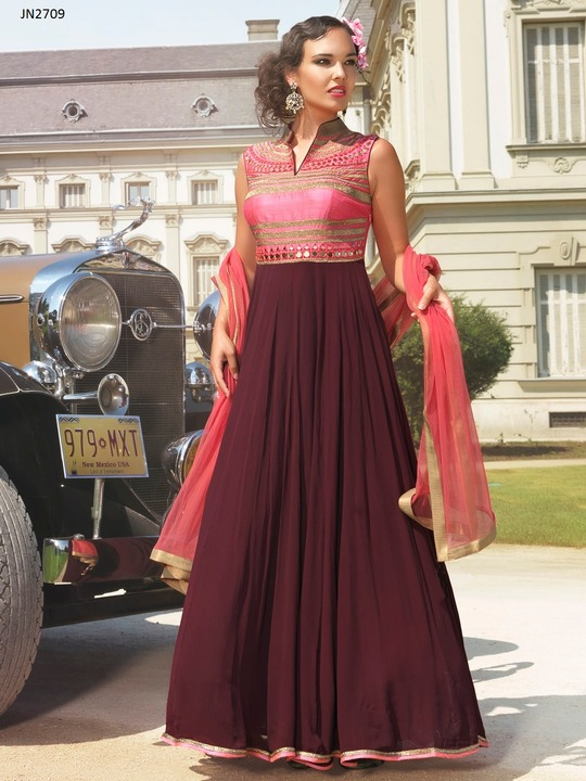Latest Party Wear Gown Designs at Best Price