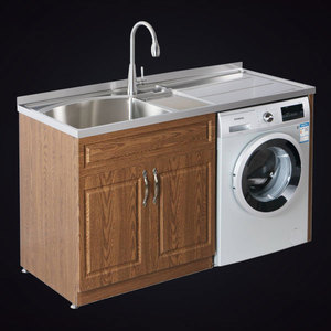 Stainless steel laundry cabinet are getting more and more attention