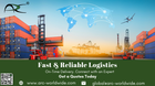 Complete freight forwarding and logistics Services