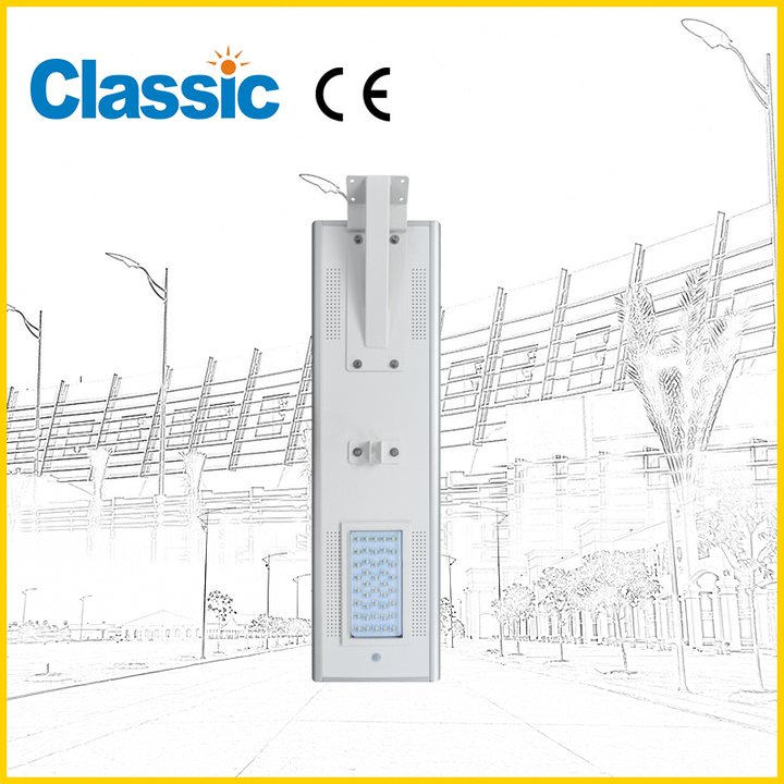 Energy Saving Principle of Solar LED Street Light