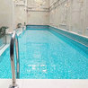 Why use acrylic material in the transparent swimming pool?